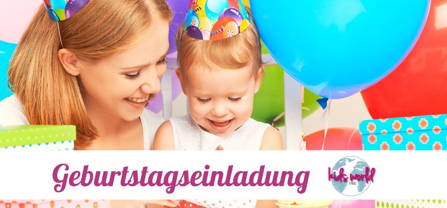 Geburtstagseinladung Mädchen